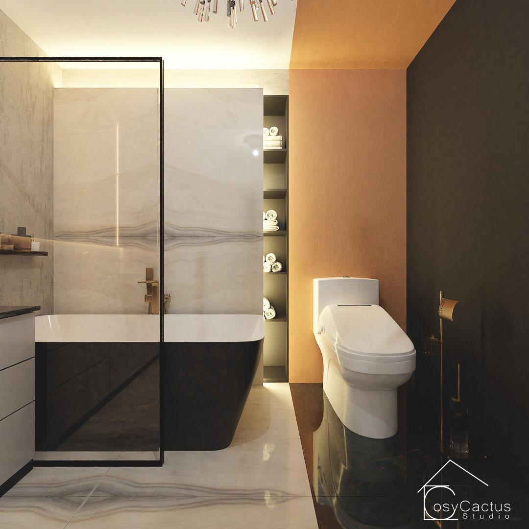 amenajare baie design interior