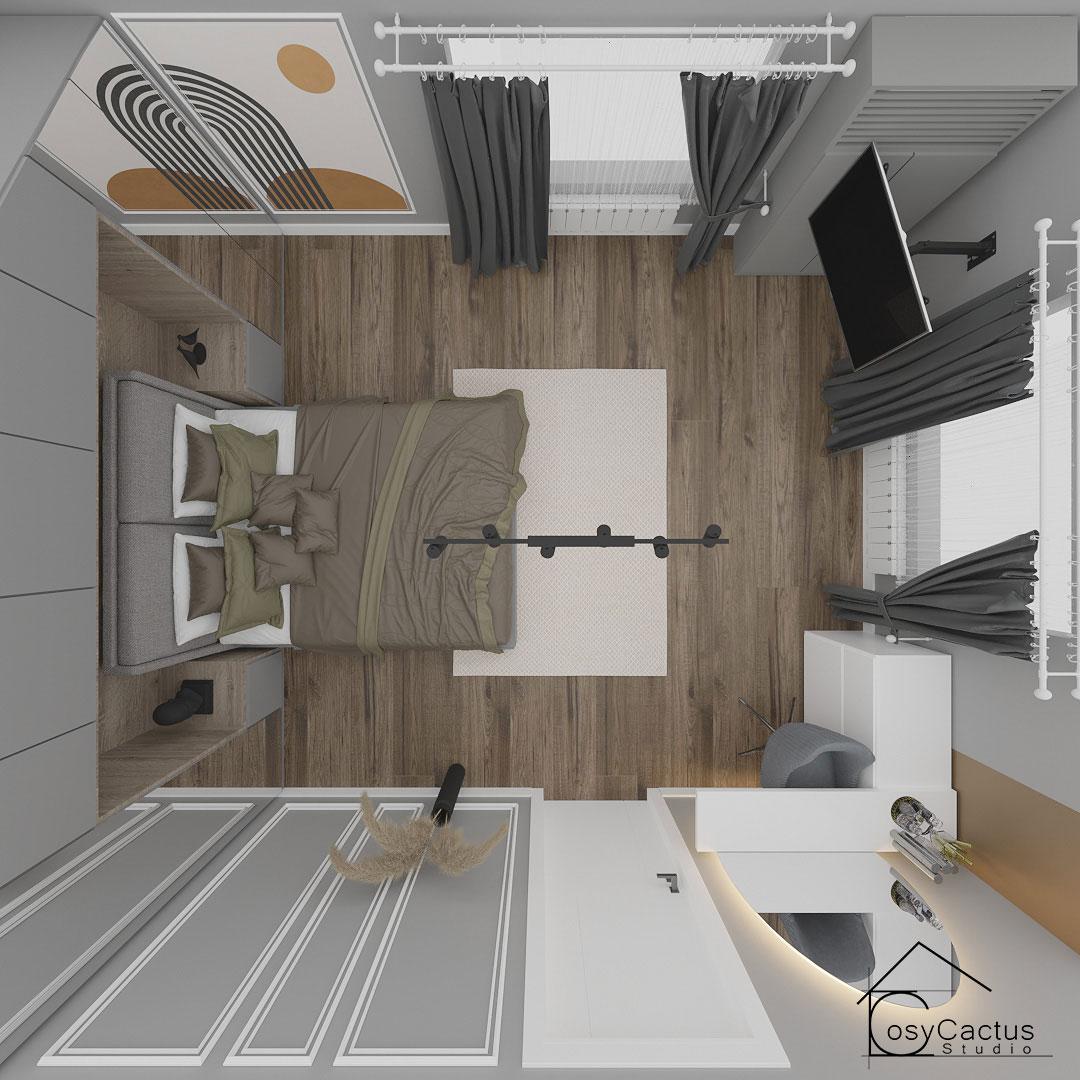 design dormitor matrimonial