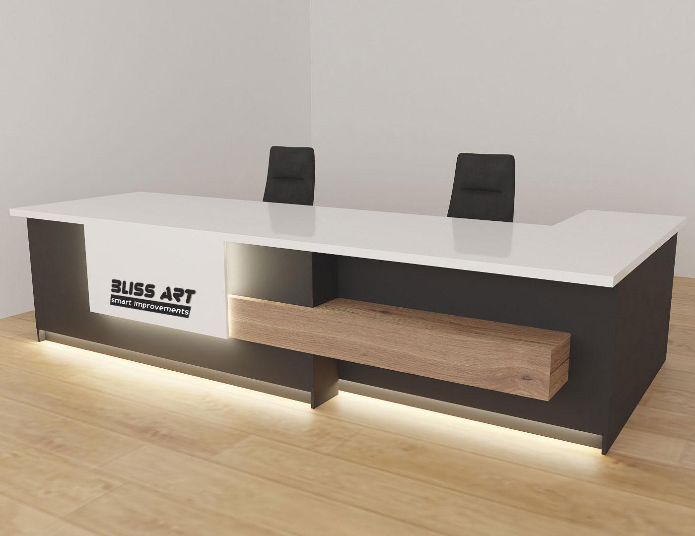 design mobilier receptie bliss art