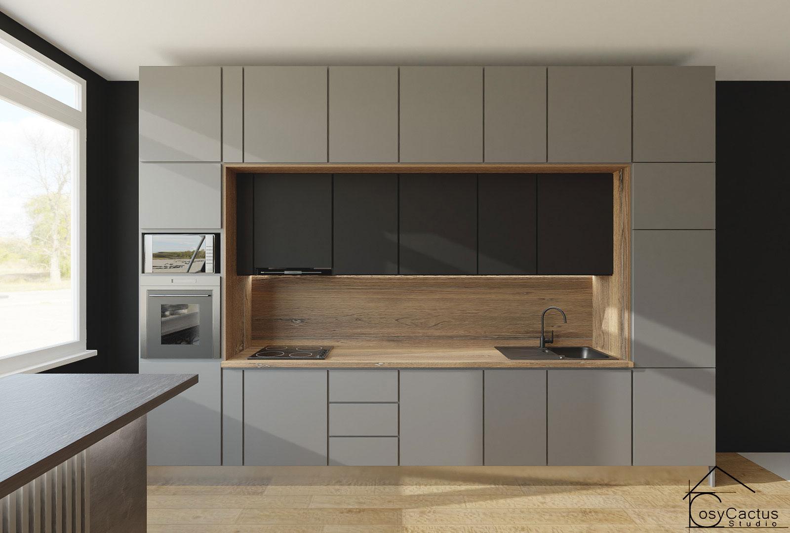 proiect mobilier bucatarie pe comanda